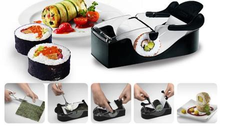 Máquina para hacer Rollitos de Sushi, ahora rebajada en eBay por 6,95 euros y envío gratis