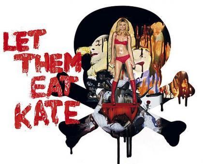 Kate Moss para Agent Provocateur, colección ropa interior de novia