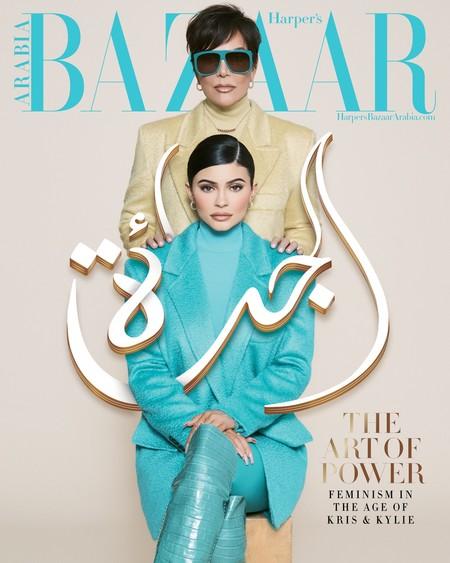 Con tan solo año y medio la hija de Kylie Jenner ya ha protagonizado su primera portada de moda