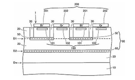 Nikon New Sensor Patent