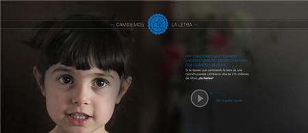 'Cambiemos la letra': nueva campaña de concienciación. Millones de niños en el mundo están obligados a trabajar
