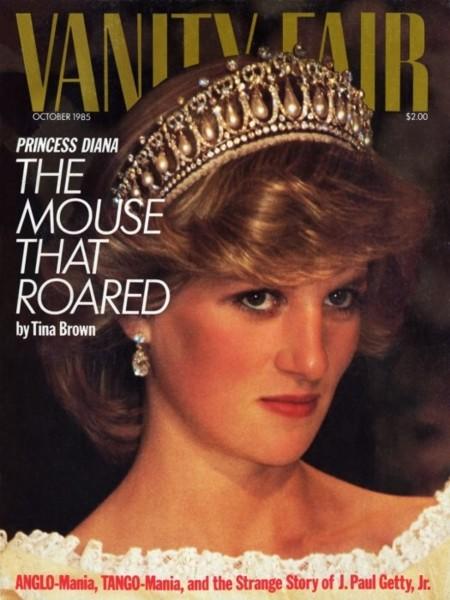 Lady Di Vanity Fair 1985