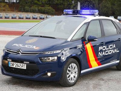 La Policía Nacional estrena 942 Citroën C4 Picasso