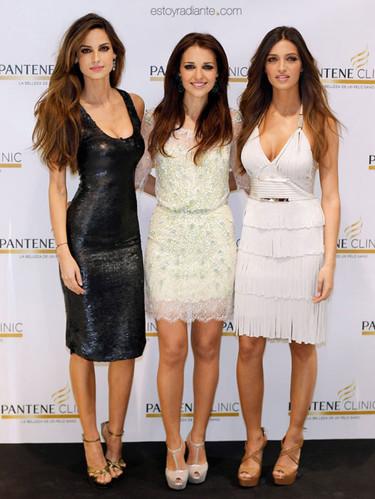 Paula Echevarría, Sara Carbonero y Ariadne Artiles, trío de bellezas con estilo