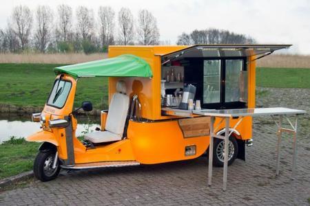 El Tuk Tuk eléctrico para los vendedores callejeros