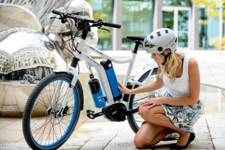 La propulsión por células de combustible de Hidrógeno llega a las bicicletas