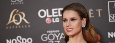 Premios Goya 2019: las sombras más potentes las luce Manuela Vellés
