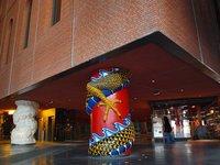 Las 43 columnas de la Alhóndiga de Bilbao