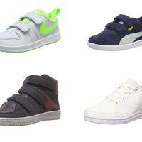 Ofertas en zapatillas para niños Nike, Adidas, Puma o Kickers por menos de 20 euros en Amazon