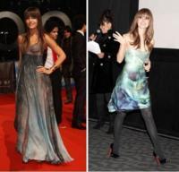 Vestidos parecidos: Camille Belle y Rachel Bilson