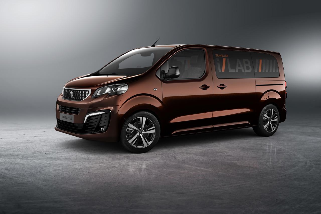 Foto de Peugeot Traveller i-Lab (1/7)