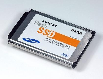 Disco duro SSD de 64 GB de Samsung