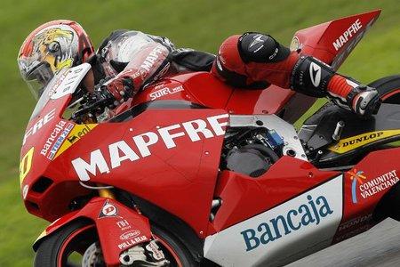Julián Simón en la Suter de Moto2