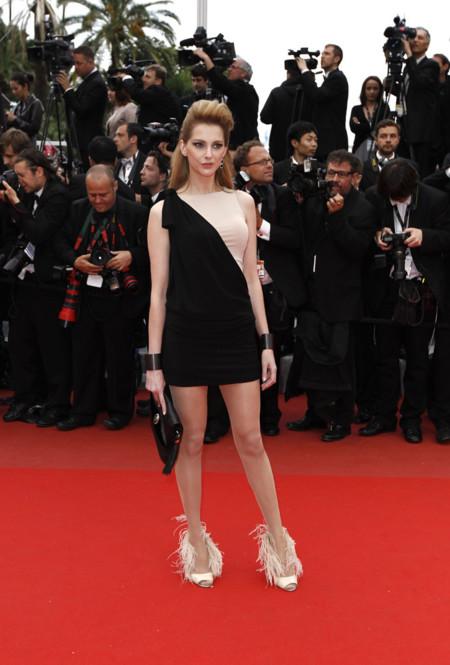 Frederique Bel Festival de Cannes peor vestidas