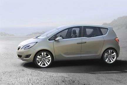 Opel Meriva Concept, imágenes en alta resolución
