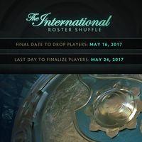 Anunciado el período de cambios de jugadores para The International 7