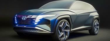 El Hyundai T Concept es un ejercicio de diseño que adelanta el futuro del Tucson
