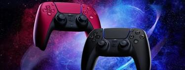 Así son los DualSense Cosmic Red y Midnight Black, los nuevos modelos del mando de PS5 que llegarán en junio