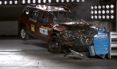 Duster Crash Test