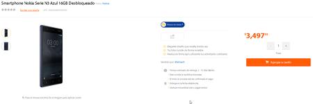 Nokia 3 Mexico Walmart Precio