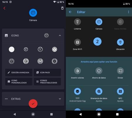 Personalizar Ajustes Rapidos Android