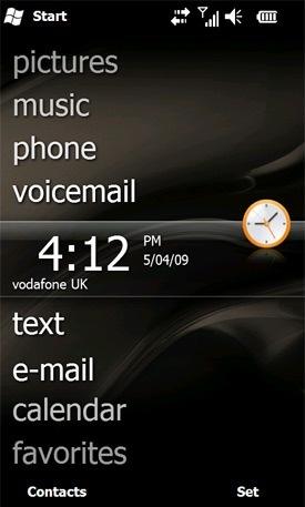 Imágenes de los temas de Windows Mobile 6.5
