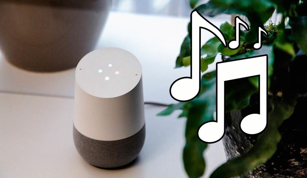 Cómo oír música gratis en el bafle de Google® utilizando la voz