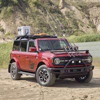 El Ford Bronco celebra su 55 aniversario con cinco preparaciones: del Bronco para pesca deportiva al Bronco Sport con un dron