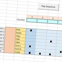 Si alguien algún día soñó con hacer música en Excel ahora es posible: esta caja de ritmos está sobre hojas de cálculo y es gratis