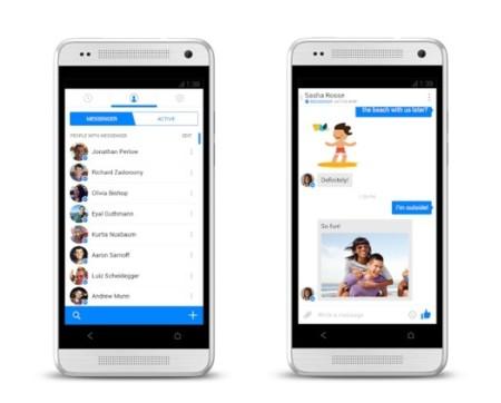 Facebook presenta un nuevo Messenger para iOS para relanzar su servicio de mensajería