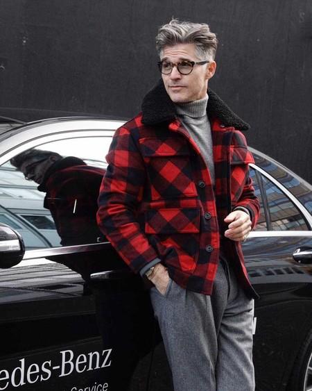 Los Hombres Mas Elegantes De Londres Le Hacen Frente Al Frio Con La Armadura Perfecta El Abrigo 06