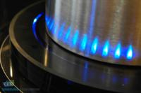 Un fuego virtual de Samsung te chiva sobre la intensidad del calor de tu placa de inducción
