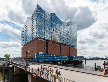 Hamburg Hafencity Elbphilharmonie Und Mahatma Gandhi Brucke 2016 3054