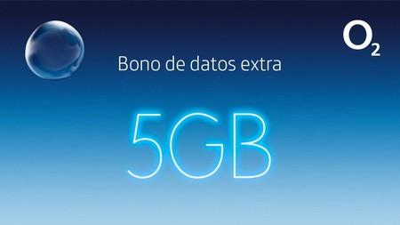 O2 también aumentará 5 GB gratis sus tarifas móviles