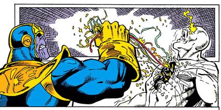 Thanos Vision Death