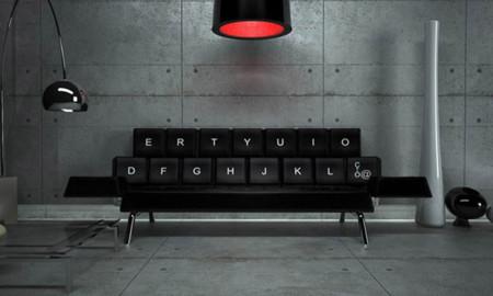 El sofá cama QWERTY es un teclado