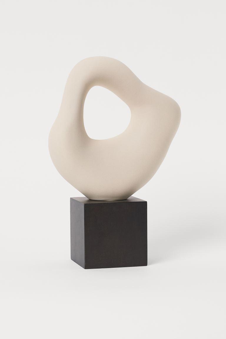 Escultura grande de cerámica