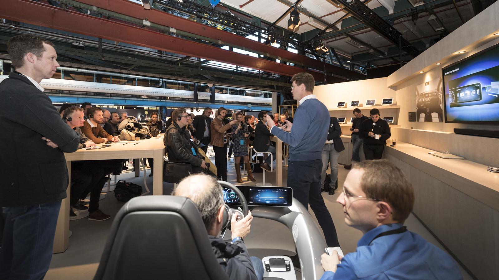 Foto de Mercedes-Benz Clase A 2018 - presentación (48/114)