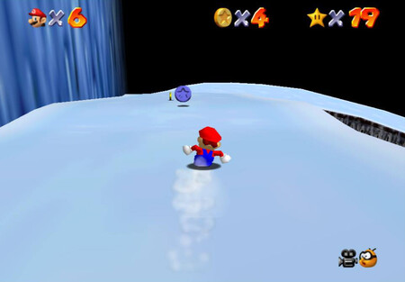 Super Mario 64: cómo conseguir la estrella Slip Slidin' Away de Cool, Cool Mountain