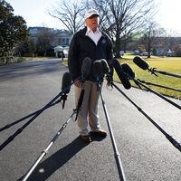 Donald Trump ya no es presidente. Así que las audiencias televisivas han caído en picado