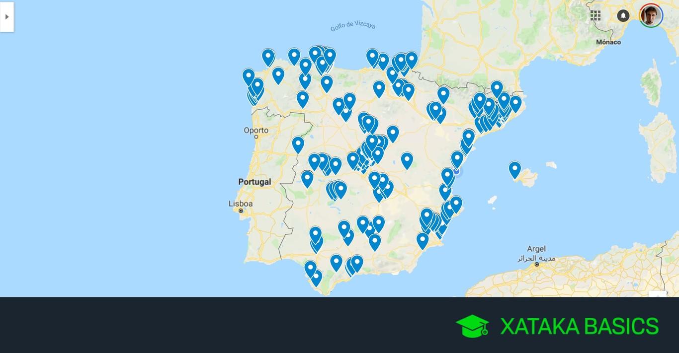 Radares en Google Maps: cómo añadirlos desde una base de datos externa