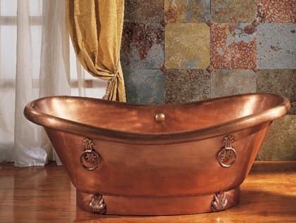bañera de cobre ago
