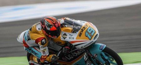 Gabriel Rodrigo consigue en Austria la pole para KTM con una última vuelta de infarto