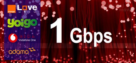 Hasta 1 Gbps, así son las tarifas de fibra más rápida