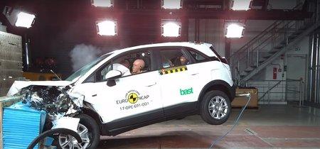 Lluvia de cinco estrellas Euro NCAP: Arona, Eclipse Cross y Crossland X, entre los agraciados
