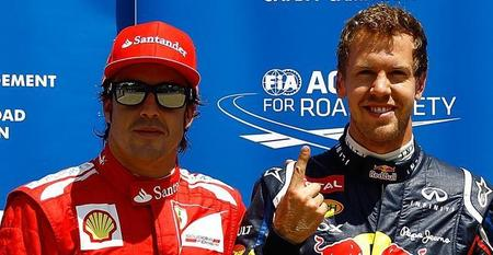 Sebastian Vettel y Fernando Alonso no estarán juntos en Ferrari