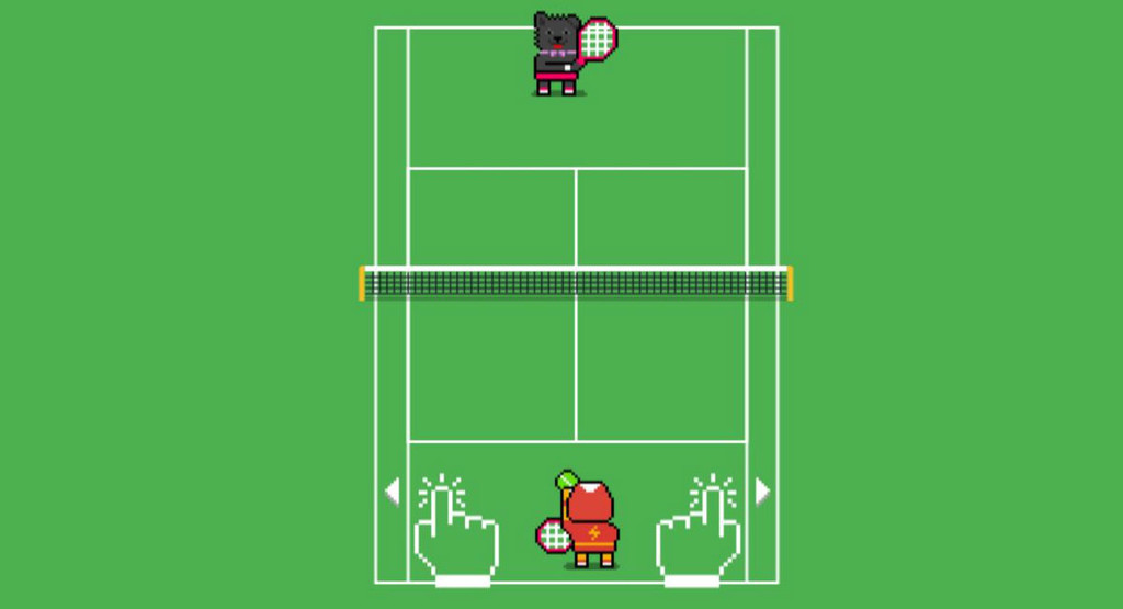 Google hides a mini-game of tennis in your search: you can activate