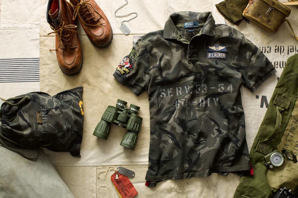 Ralph Lauren Reinterpreta El Camuflaje En Su Edicion Military Polo De Edicion Limitada