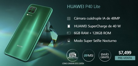 Huawei P40 Lite Mexico 1