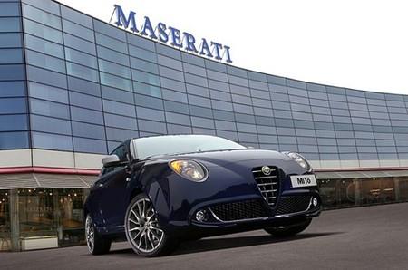 Alfa Romeo MiTo, coche de cortesía de Maserati